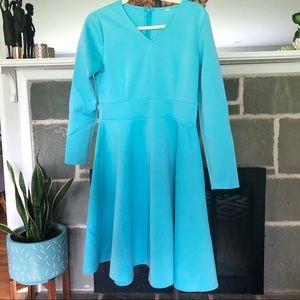 UNLISTED | Sky Blue Long Sleeve Neoprene Dress XL